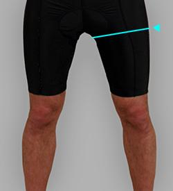 太腿囲(ふとももまわり)
