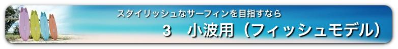 小波用(フィッシュモデル)